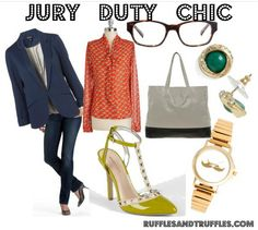 Style: What to wear to jury duty