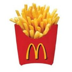 there's something on Mc Donald's French fries and i love it!