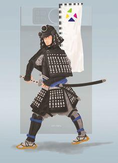 Samurai, Darth Vader, Japan, Fictional Characters, Fantasy Characters, Japanese, Samurai Warrior