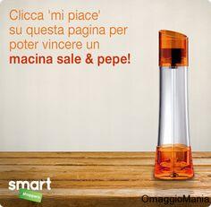 Vinci un macina sale e pepe con Smart Shoppers Italia - http://www.omaggiomania.com/concorsi-a-premi/vinci-un-macina-sale-e-pepe-con-smart-shoppers-italia/