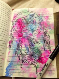 Dream catcher doodle from my journal :)