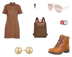 """""""Untitled #7986"""" by mie-miemie ❤ liked on Polyvore featuring Great Plains, Timberland, Full Tilt, Napier, Longchamp and Deborah Lippmann"""