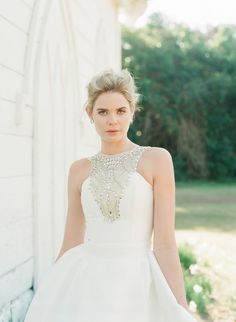 Kate McDonald Bridal wedding dresses online or in Charleston, South Carolina for bridal gowns from the designer of LulaKate bridesmaids dresses. Wedding gowns in Charleston, SC. Southern Bride, Southern Weddings, Southern Style, Unique Weddings, Bridal Wedding Dresses, Bridesmaid Dresses, Wedding Bells, Trends, Bridal Looks