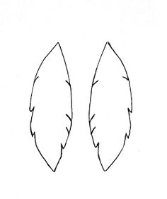 A Bit Of Sunshine Make Something Monday Suede Feather Earrings Template