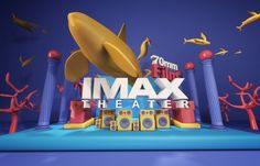 """CGV"" Cinema 3D Artwork Project & MotionGraphic on Behance"