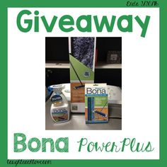 "@Laugh Teach Love  Giveaway!! Bona just recently launched a brand new product – Bona PowerPlus which is their deepest cleaning solution yet. It's a fabulous ""deep cleaning"" product intended to tackle dirt and grime on hardwood,…"