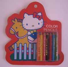 Hello Kitty mini pencil set by ✎☁Iron Lace☁✎, via Flickr