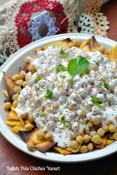 Fatteh Pois Chiches Yaourt