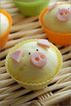 Pig steamed bun