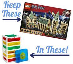 Lego Storage Workstation