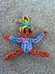 Rainbow loom gymnast