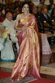 #Sridevi #kanjivaram #saree