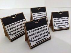 Typewriter Notecards