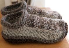 Unisex Crochet Slippers Free Pattern