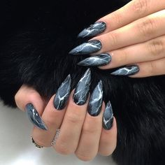 Marbles nails unique