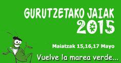 Gurutzetako Jaiak 2015 Fiestas de Cruces