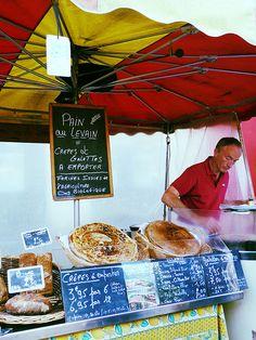 market, Bayeux, Normandy, France