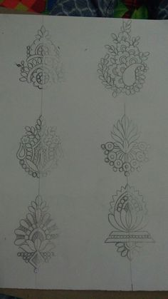 Peacock Embroidery Designs, Floral Embroidery Patterns, Hand Embroidery Flowers, Hand Embroidery Tutorial, Pattern Art, Pattern Design, Floral Tattoo Design, Embroidery Motifs, Beaded Brooch