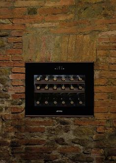 Smeg Dolce Stil Novo Wine Cooler. Thanks to Argiano SpA Società Agricola for the great location.