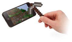 Minecraft Pickaxe Touchscreen Stylus