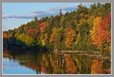 Autumn Reflections - PentaxForums.com