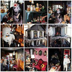 DIY Halloween Dollhouse so fabulous I can't believe it!!