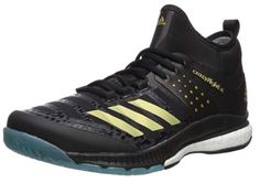 buy popular 7bf3e cd14a Adidas Mens Crazyflight X Mid Volleyball Shoe