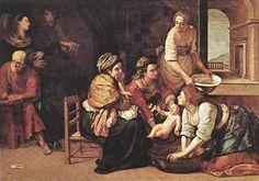 La nascita di San Giovanni Battista, Museo Nacional del Prado, Madrid, 1633 - 1635 circa