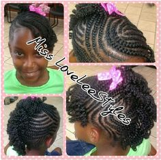 Hairstyles For Natural Hair Kids - kitharingtonweb