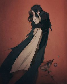 'Our Lost Kingdoms'. Eliot's poem, The Hollow Men. <<I don't ship Reylo but this is a beautiful piece of art. Dark Fantasy Art, Dark Art, Character Inspiration, Character Art, Character Design, Foto Cartoon, Abigail Larson, Mode Poster, Creation Art
