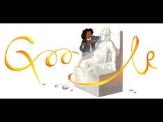 Celebrating Edmonia Lewis Google Doodle  Mary Edmonia Lewis (ca. July 4, 1844 – September 17, 1907) was an American sculptor who worked for most of her career in Rome, Italy. She is the first woman of African-American and Native American heritage to achieve international fame and recognition as a sculptor in the fine arts world. Her work is known for incorporating themes relating to black and American Indian people into Neoclassical style sculpture. #blackhistorymonth #bhm