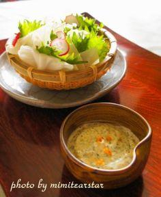 野菜が美味しく食べられる【キャベツと青じそのサラダ 桜エビマヨディップ】|レシピブログ