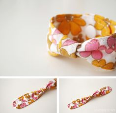 5 things to do with KAMSnaps - DIY: Easy fabric bracelet via Luloveshandmade.blogspot.com featuring @Snaply Nähkram