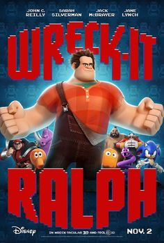 Wreck-It Ralph (2012) - great nods to arcade and early console gaming with a heartful story that doesn't get too sweety gooey.