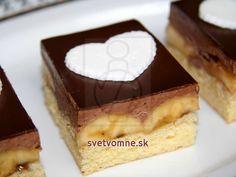 Banánovo čokoládové kocky • Recept | svetvomne.sk
