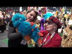 FOLKMANIS PUPPETS 2013 TOY FAIR with SYLVIA GALLEN - YouTube