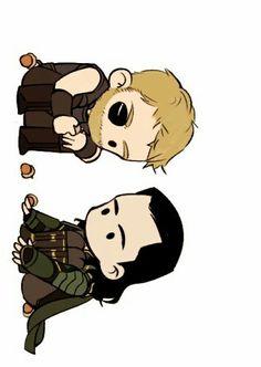 Thor & Loki    Avengers Infinity War    Cr: 트렘