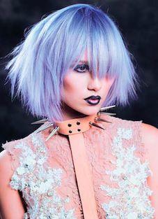 Ultraviolet hair color Definitely fashion forward!
