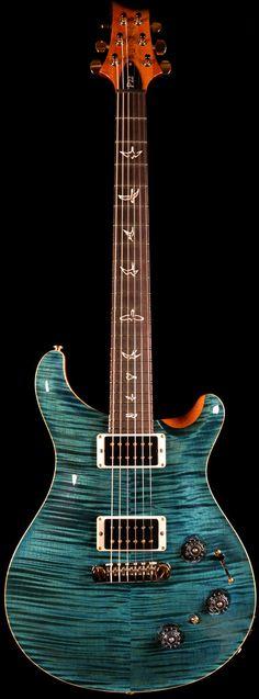 Wild West Guitars : PRS P22 Blue Crab Blue Ten Top.