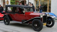Lancia Lamda, unibody construction and independent suspension in the 1920's!