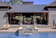 A cabin in the woods x 2 Outside Living, Outdoor Living, Home On The Range, Breezeway, Rustic Contemporary, Amazing Spaces, Farm Gardens, Modern Exterior, Cabins In The Woods
