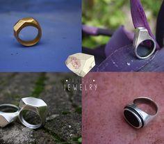 Handmade jewels by Paniquò - Silver, bronze, gemstones. Lost wax casting