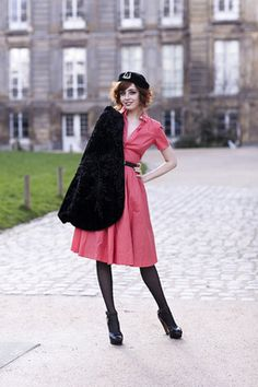 The Clothes Horse - Louise of Pandora Miss Pandora, Mode Vintage, Vintage Style, Complete Outfits, City Chic, Clothes Horse, Fashion Pictures, Vintage Looks, Retro Chic
