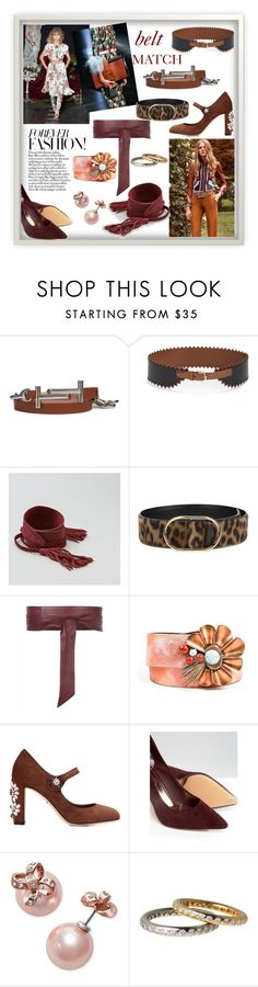 """BELT MATCH!!!"" by kskafida ❤ liked on Polyvore featuring Tod's, Salvatore Ferragamo, Roberto Cavalli, FAUSTO PUGLISI, American Eagle Outfitters, Monique Lhuillier, Prada, STELLA McCARTNEY, Jaeger and Christian Lacroix"