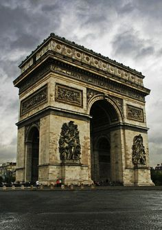 Arc du Triomphe by Dimitry Anikin.  I have climbed this too.