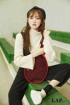 "fyeahkoreanphotoshoots: "" Lee Sung Kyung - LAP (F/W "" Korean Actresses, Korean Actors, Lee Sung Kyung Photoshoot, Korean Girl, Asian Girl, Korean Style, Weightlifting Fairy Kim Bok Joo, Joo Hyuk, Park Shin Hye"