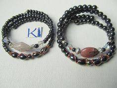 Magnetic Hematite Bracelet Copper Rose by KiCrystalCreations Copper Rose, Copper Rings, Copper Jewelry, Hematite Bracelet, Matching Rings, Pink Fashion, Anklets, Pain Relief, Rose Quartz