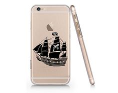 Pirate Ship Clear Transparent Plastic Phone Case for Iphone 6 6s_ SUPERTRAMPshop (VAS470) SUPERTRAMPshop