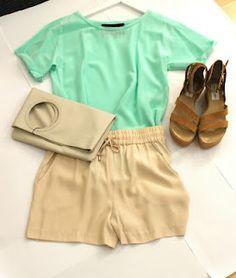 via www.isthenew.at Casual Shorts, Short Dresses, My Style, Fashion, Fashion Styles, Summer, Short Gowns, Moda, Fashion Illustrations
