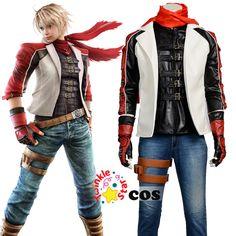 Halloween Costume for adult men Tekken cosplay costume Tekken leo klisen men cosplay costume Tekken leather jacket #Affiliate